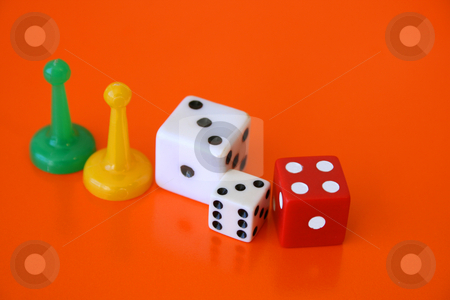Games stock photo, Played pieces that was part of a game set by Vanessa Van Rensburg
