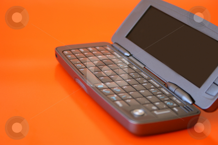 Cellphone PC stock photo, New technology Flip-open cellphone with keyboard by Vanessa Van Rensburg