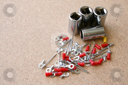 Workmans Tools stock photo, Various tools for DIY jobs around the house by Vanessa Van Rensburg