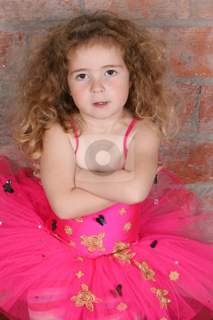 Dreamer stock photo, Little girl dreaming of becoming a ballerina by Vanessa Van Rensburg