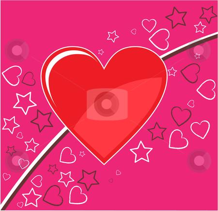 Valentine background stock vector clipart, Valentine background by Vadim Pats