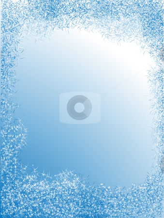 Framework blue color stock photo, Framework blue color in the from  abstract stars by Alina Starchenko