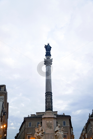 Obelisk stock photo, A tall religious obelisk in Rome, Italy by Kevin Tietz