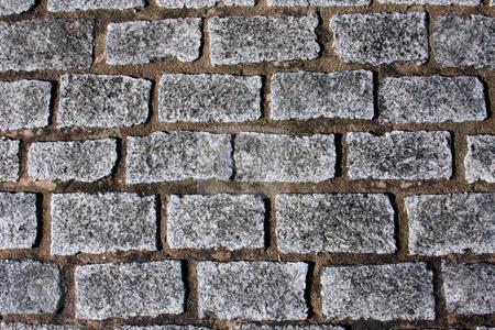 Cobblestones stock photo, Church cobblestone pathway by Darren Pattterson