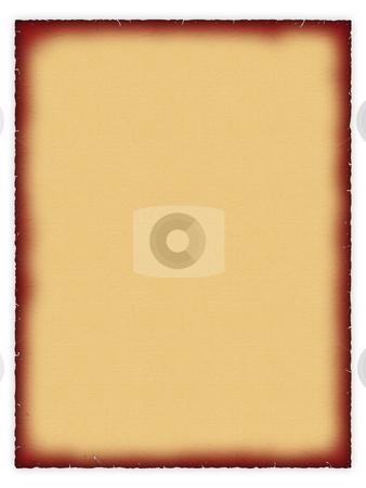 Papyrus stock photo, Old papyrus paper on a white background. by Dmitriy Kalyuzhnyy