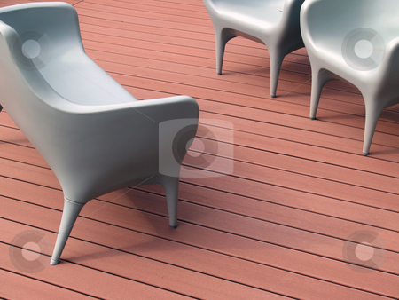 Furniture stock photo, Garden Furniture by Portokalis