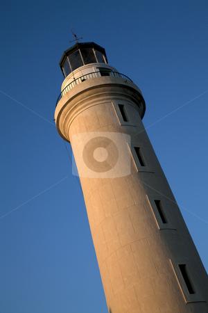 Lighthouse stock photo, Lighthouse at Alexandroupolis. Greece by Portokalis