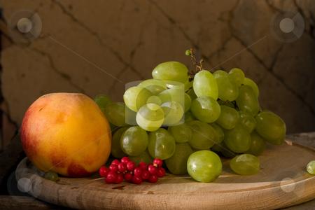 SCHIZANDRA stock photo, Food series: macro picture of fresh ripe schizandra by Gennady Kravetsky