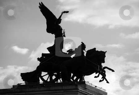 London Statue stock photo, Statue at Hyde Park by Chris Davidson