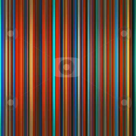 Vibrant colors graduated stripes abstract background. stock photo, Vibrant colors graduated stripes abstract background. by Stephen Rees