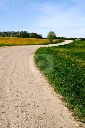 Country Road 1 stock photo,  by Stanislovas Kairys