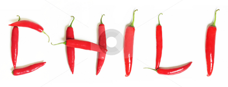 Red Hot Chili stock photo, Bright Red Chillies by Leah-Anne Thompson