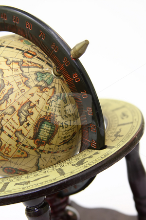 The globe stock photo, The globe is a lot of things to learn by ARPAD RADOCZY