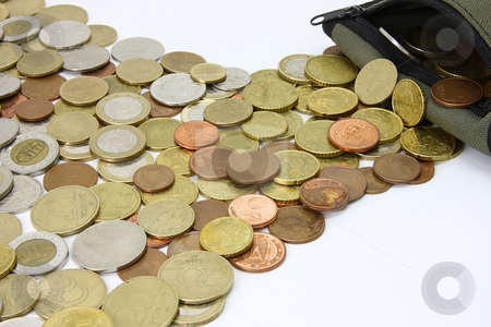 Money river stock photo, Whether inside or outside of the wallet is the money? by ARPAD RADOCZY