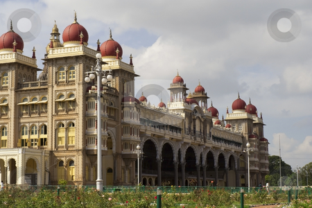 Maharajas palace at mysore stock photo, The royal palace of the maharaja of mysore south india by Mike Smith