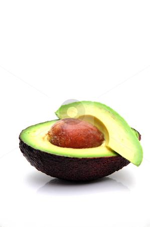 Ripe Avocado stock photo,  by Lynn Bendickson