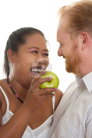 Healthy Relationships stock photo, Healthy happy relationships by Leah-Anne Thompson