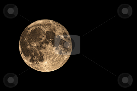 ... a full moon stock photo, ... only a full moon by emiliano beltrani