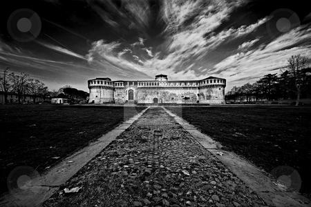 ... an early morning castle stock photo, ... a castle in winter by emiliano beltrani