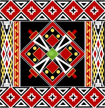 Traditional Easter pattern stock vector clipart, Traditional Easter pattern typical for painted eggs. Vector by Onyshchenko Viktor