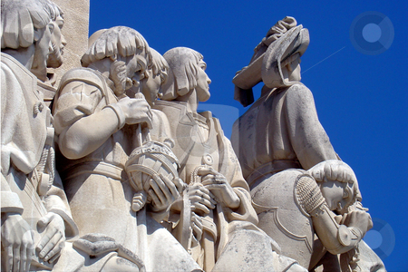 Monument to the Discoveries, Lisbon, Portugal stock photo,  by Giancarlo Liguori