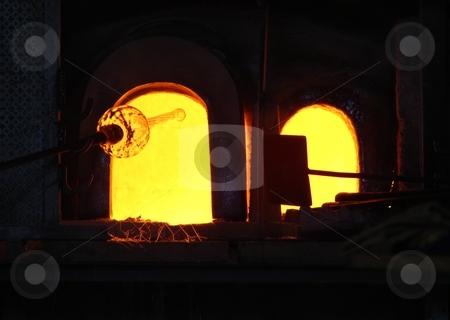 Glass manufacturing, Murano stock photo,  by Giancarlo Liguori