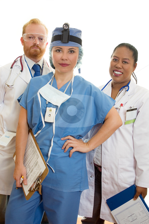 Medical Incredible stock photo, Dependable Medical Team by Leah-Anne Thompson