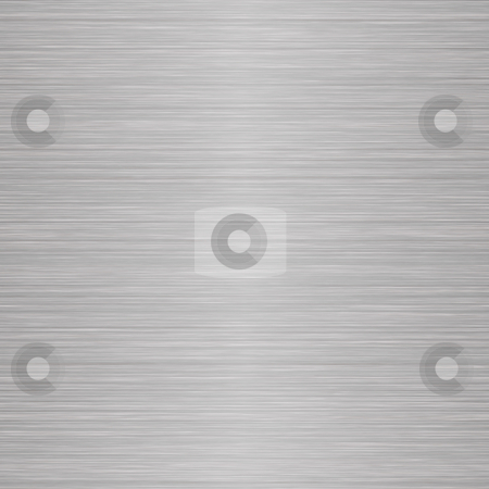 Seamless Brushed Metal stock photo, A seamless brushed nickel texture that tiles as a pattern in any direction. by Todd Arena