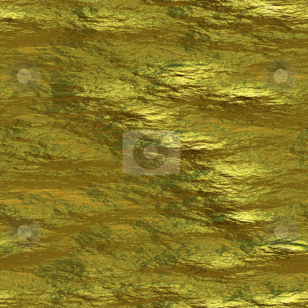 Gold Nugget stock photo, A rough looking gold nugget texture that tiles seamlessly as a pattern. by Todd Arena