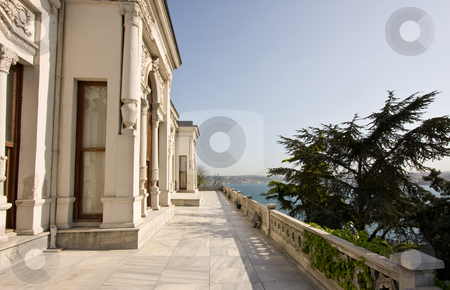 Topkapi Palace in Istanbul stock photo, View along the Topkapi Palace in Istanbul by Steven Heap