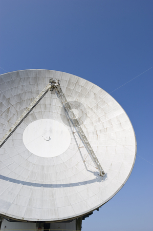 Earth Station Satellite Dish stock photo, Satellite Dish at Goonhilly Earth Station Cornwall England by Stephen Meese