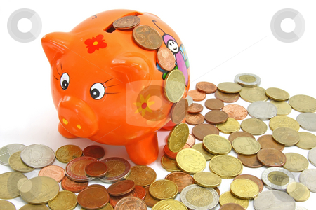 Piggy-bank stock photo, To save money is profitable. Save money!. by ARPAD RADOCZY