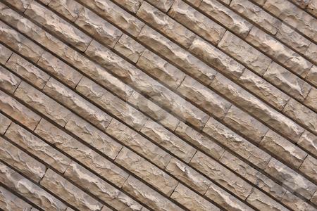 Brick wall stock photo, Modern grey brick-wall texture by ARPAD RADOCZY