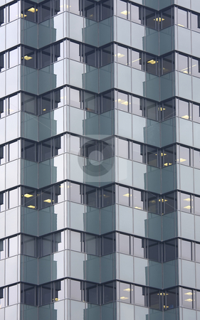 Office building stock photo, In the modern office building thousands of people working by ARPAD RADOCZY