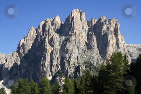 Catinaccio stock photo, Catinaccio mount in Val di Fassa, Trentino, Italian Dolomites by ANTONIO SCARPI