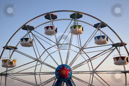 Amusement park stock photo, Amusement park - Luna park by Portokalis