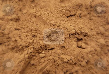 Cocoa powder stock photo, Cocoa powder background by Mile Atanasov