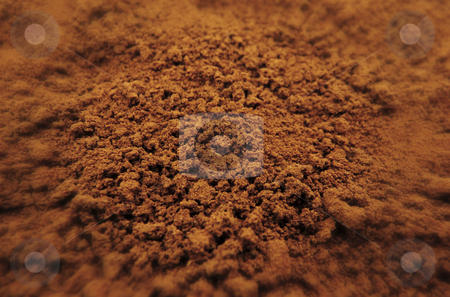 Instant coffee stock photo, Instant coffee powder background by Mile Atanasov
