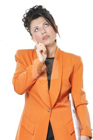 Business idea stock photo, Businesswoman thinking, ideas, contemplation, etc by Leah-Anne Thompson