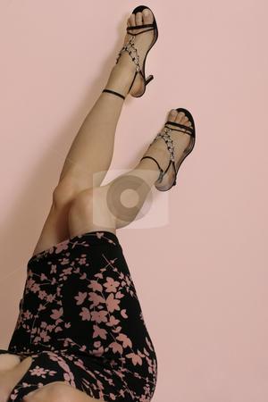 Summer legs stock photo, Summer legs by Leah-Anne Thompson