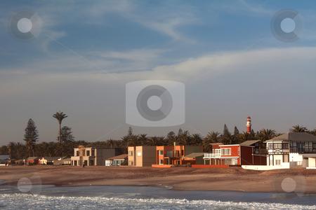 Swakopmund, a town on the coast stock photo, Swakopmund, a town on the coast, Namibia, Oktober 2009 by Manuela Schueler