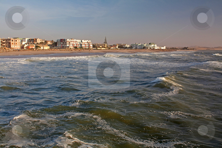 Swakopmund, a town on the coast stock photo, Swakopmund, a town on the coast, Namibia, Oktober 2009 by Manuela Schueler