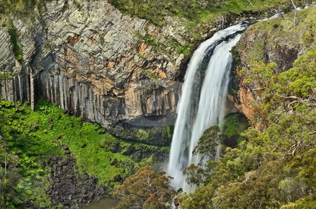 Ebor river waterfall  stock photo, The beautiful and majestic ebor river waterfall by Phil Morley
