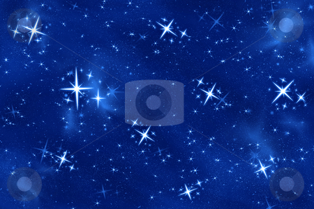 Bright star stock photo, Big bright and beautiful wishing or christmas star by Phil Morley