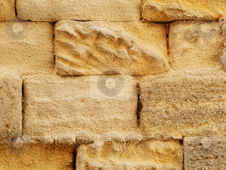 Stone wall stock photo, Texture rich stones of a house wall by Laurent Dambies