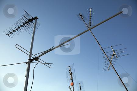 Antenna stock photo, Antenna tv by Portokalis