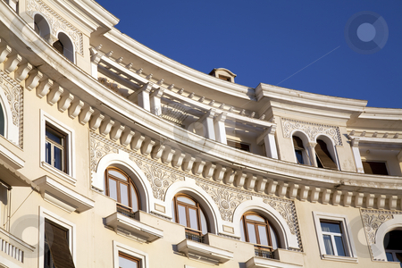 Neo Classical building stock photo, Neo Classical building by Portokalis