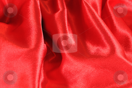 Red silk stock photo, Red silk suitable for background wallpaper texture of designs by Salauyou Yury