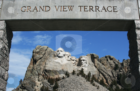 Mt. Rushmore stock photo, Mt. Rushmore National Monument, SD by Henry Enriquez