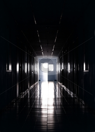 Light at the end of the tunnel stock photo, Light at the end of the tunnel - mysterious hope concept. by Oleg Blazhyievskyi